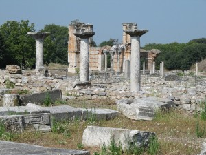 Modern ruins of Philippi.  Source: http://www.flickr.com/photos/33037982@N04/4952686280/