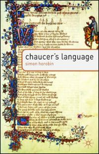 chaucers-language-simon-horobin-paperback-cover-art