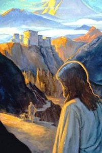 """Jesus Approaching Ladakh as a Youth,"" J. Michael Spooner"