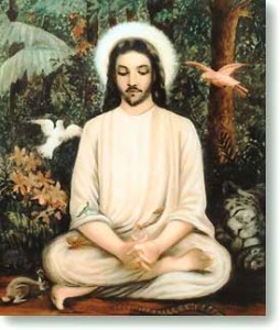 jesus_meditating_forest